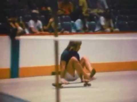 TOM SIMS at the 1976 Hang Ten Skateboard Contest