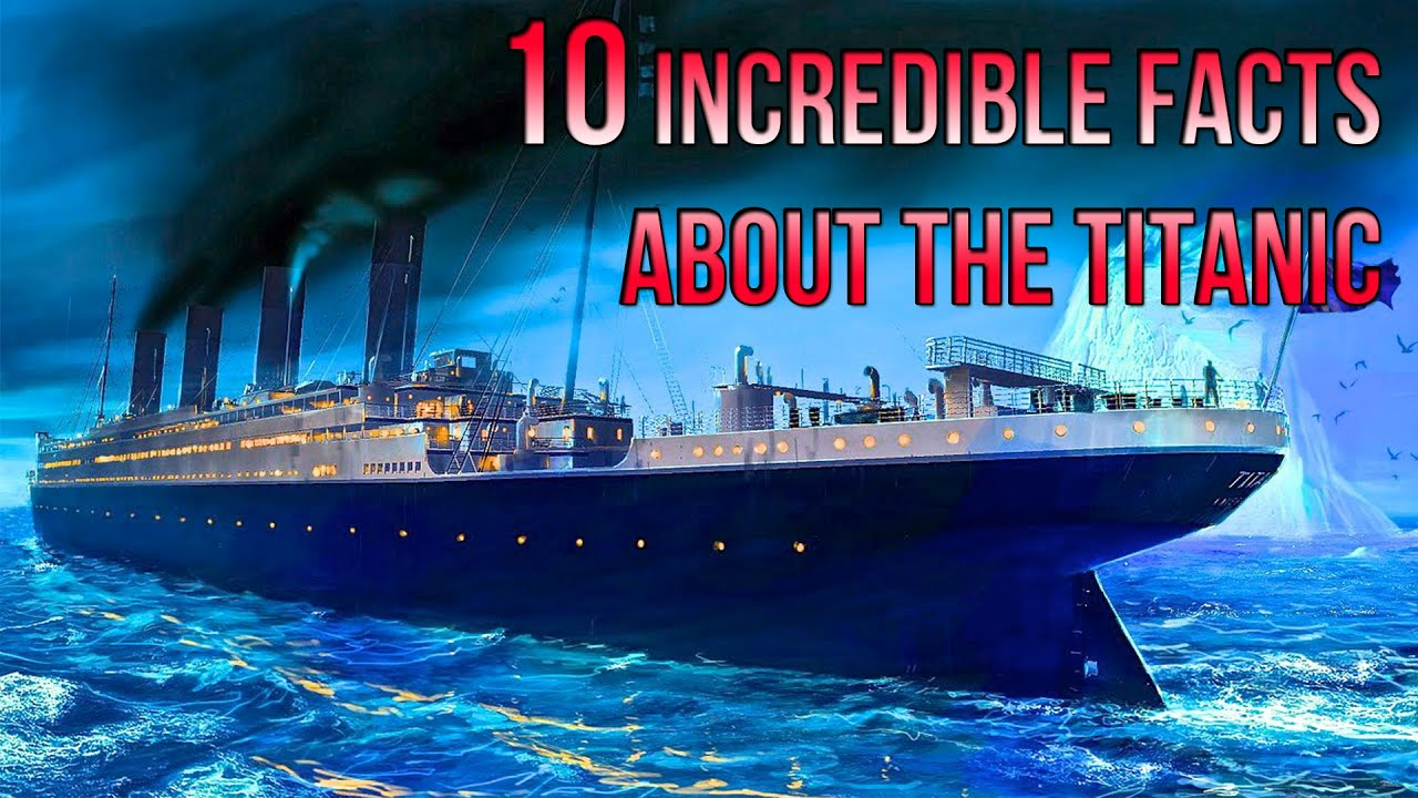 Titantic Facts For Kids