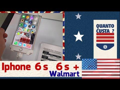 Preço do IPhone 6, 6s, 6s Plus nos Estados Unidos 2016 - Walmart