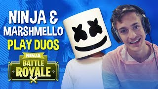 Ninja & Marshmello Play Duos!! - Fortnite Battle Royale Gameplay