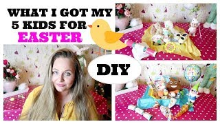 WHAT I GOT MY 5 KIDS FOR EASTER / DIY EASTER BASKET GIFT IDEAS BOY, GIRL, TODDLER AND BABY