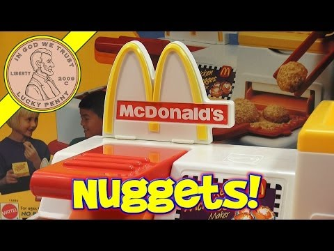 McDonald's Happy Meal Magic McNuggets Maker Set. 1993 Mattel Toys (Fun Recipes)