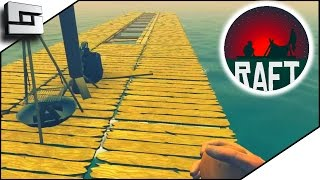 STRANDED ON A RAFT?! - Raft Gameplay Ep 1 | Sl1pg8r