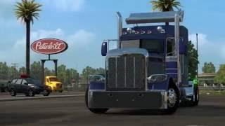 American Truck Simulator - Configuring Peterbilt 389