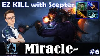 Miracle - Slardar Offlane | EZ KILL with Scepter | Dota 2 Pro MMR Gameplay #6