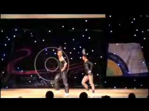 Jade Mandorino & Maurizio Mandorino - Show in Moscow (Russia) 2009