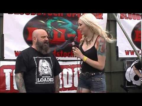 Kirk Windstein (Crowbar) interview @Bloodstock 2012 with Hayley Leggs (TotalRock)