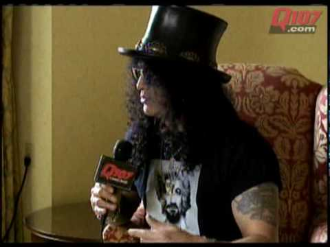 Kim Mitchell interviews Slash - part 1 of 3