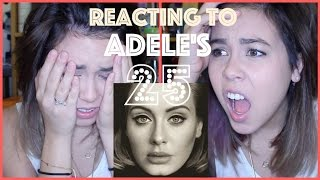 ADELE 25 [FULL] ALBUM -- REVIEW/REACTION