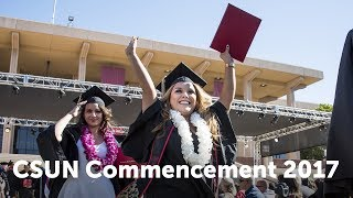 CSUN Commencement 2017: Nazarian College of Business and Economics