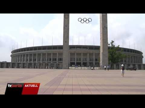 Olympiastadion als Wahllokal