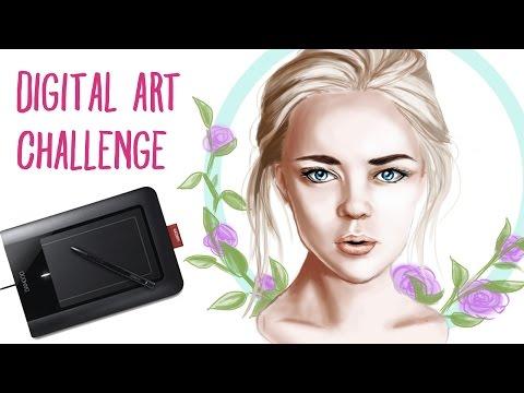 Digital Art Challenge - First Digital Painting Ever!