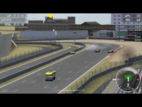 Simraceway Commentary - Sports Car Quick Race at Guangdong