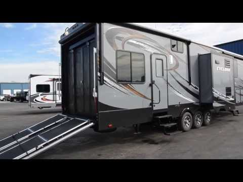 2014 CYCLONE 4100HD TOY HAULER at HolmanRV.com