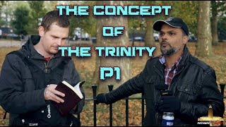 Video: Show me Trinity in the Bible. Why show me Monotheism - Hashim vs Builder Bob 1/2