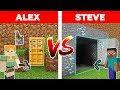 GİZLİ GEÇİT KAPIŞMASI! (ALEX VS STEVE) 😱 - Minecraft