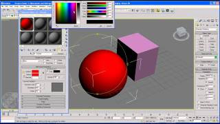 3Ds Max Tutorial 13 Maps and materials