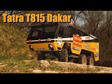 RC Adventures France - Tatra T815 Dakar - Tests