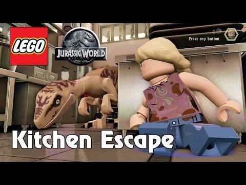 LEGO Jurassic World Kitchen Escape