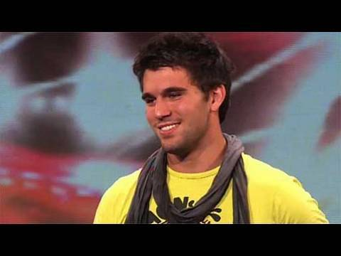The X Factor 2009 - Ethan Boroian - Auditions 5 (itv.com/xfactor)
