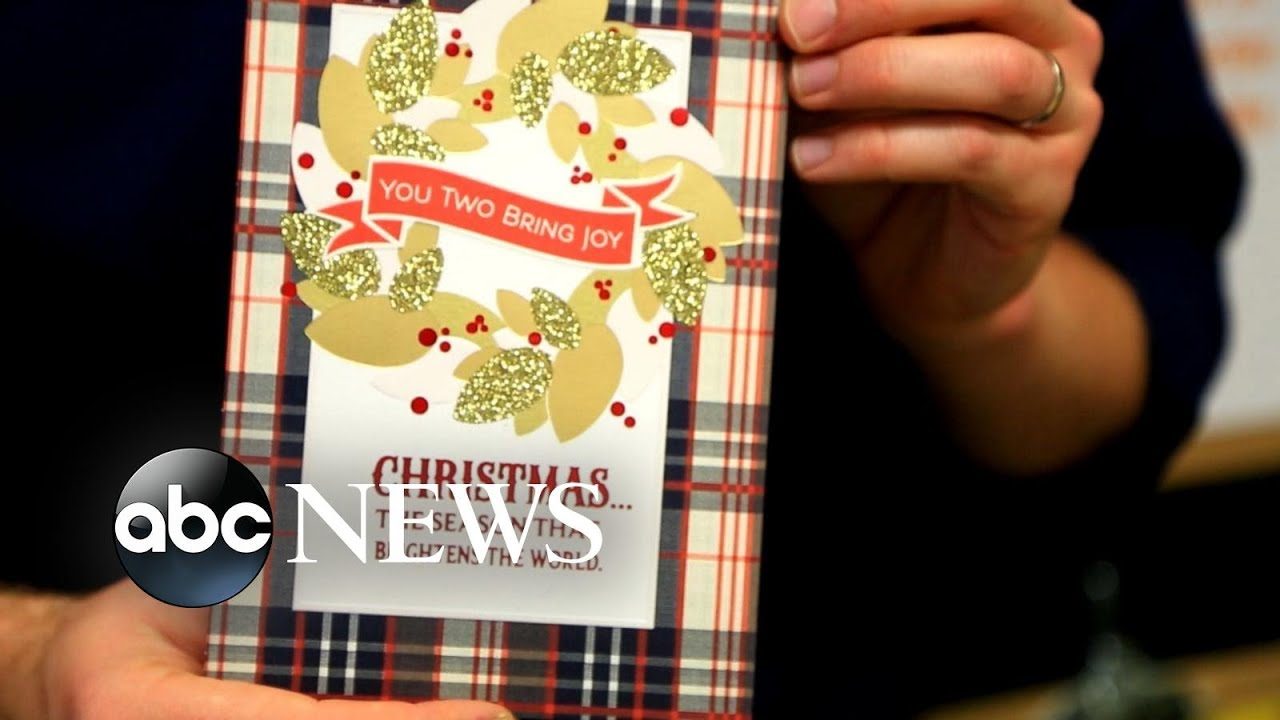 A look at who writes the messages inside millions of Christmas Cards sent every year