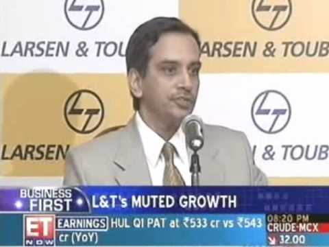 Larsen and Toubro posts Rs.666 cr Q1 profit Video