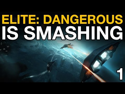 Elite: Dangerous Is Smashing - Part 1 (Beta Gameplay)