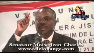 Senateur Moise Jean Charles on International aids, resources, Michel Martelly