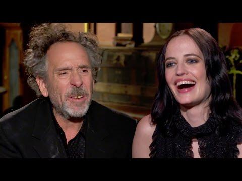 Tim Burton & Eva Green Talk Weirdness- Miss Peregrine's Home For Peculiar Children