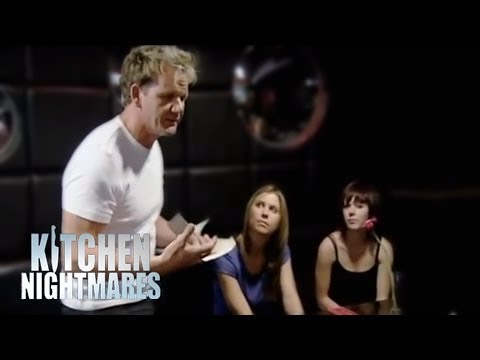 Waiter training with Gordon Ramsay - Ramsay's Kitchen Nightmares