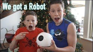 Ashton and I got a Robot!