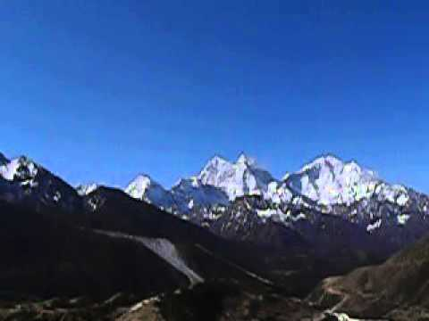 Beautiful Mountain trekking in Nepal