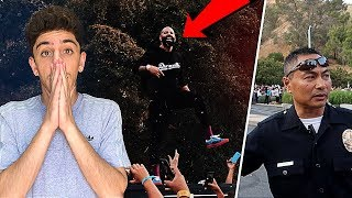 The Fouseytube event went VERY wrong... **COPS INVOLVED**