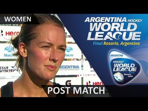 Post Match Interview Petrea Webster #HWL2015 #Rosario
