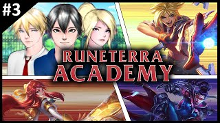 """League of Legends Anime: Runeterra Academy - Episode 03: Rise to the """"Top"""""""