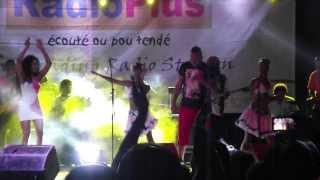 Concert Plage Flic en Flac  24 Decembre 2013