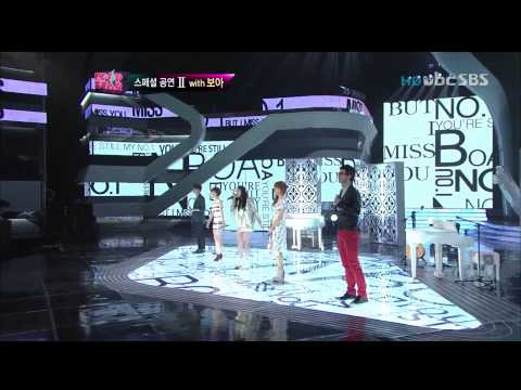120429 BoA & Kpop Star - No 1 + One Dream Remix Live