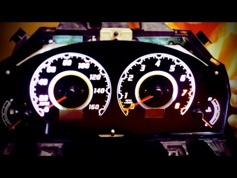 Infiniti G35 Custom >> G35 to Vaydor Gauge Cluster conversion #5 - YouTube