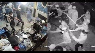 Hàng chục côn đồ đập nát nhà hàng cướp túi 200 triệu ở trung tâm Sài Gòn