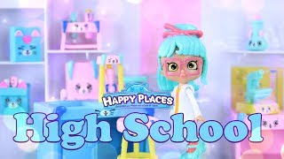 Unbox Daily: ALL NEW Shopkins Happy Places High School | Science Lab | Classroom & More