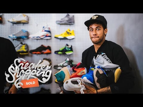 Neymar Goes Sneaker Shopping With Complex
