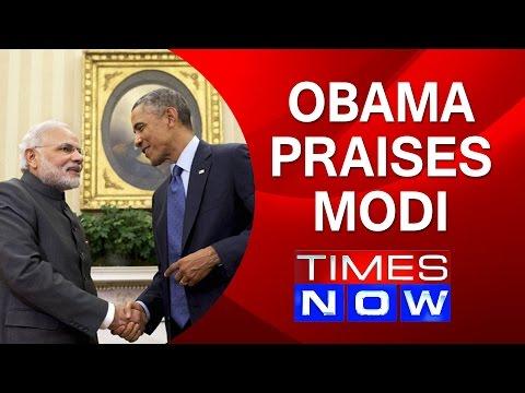 Obama praises Modi in TIMES article