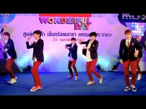 140223 Follow cover EXO - Dubstep Intro + Growl @Isuzu Cover Dance 2014