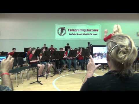 Lufkin Road Middle School Band Concert Summer 2013