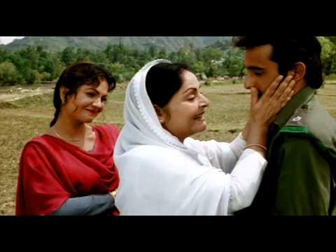 Border movie scene - mother son meet