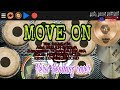 MOVE ON - Nella kharisma (new arista vol.2) Versi kendang cover