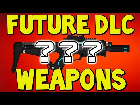Advanced Warfare - Future DLC Weapons - SMG Coming Next? (COD AW) Mult...