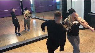 BACK IN DANCE REHEARSALS FOR NEXT MUSIC VIDEO!!!!!
