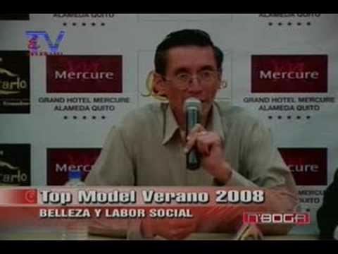 Top Model Verano 2008