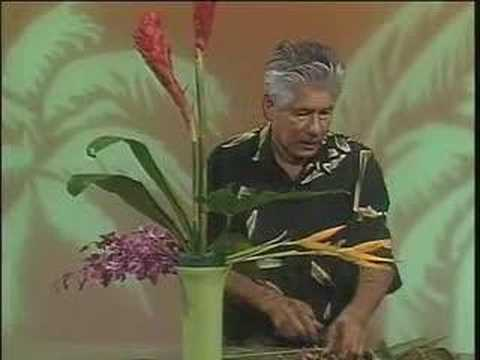 Hawaiian Tropical Flowers Floral Design With Phil Rulloda